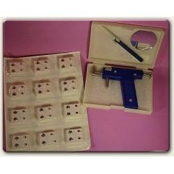 Earpiercing Gun & 12 earring studs