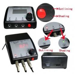 LCD Digital Tattoo Machine Power Supply Dual Use