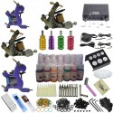 Professional Kit - Pro Kit 4 - Tattoo Complete Kit - 4 Machines!! Carry Case Included!!