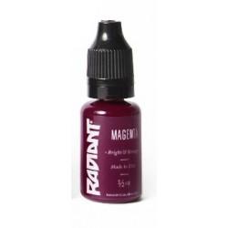 MAGENTA - 1/2oz - 15ml  - Radiant Colors - USA Tattoo ink.