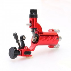 Rotary Motor Liner or Shader - Tattoo Machine - With Clip Lead & RCA connections - Red