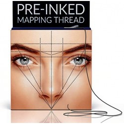 Pre-Inked Eyebrow Mapping String – 20 Meters