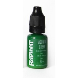 USA Tattoo ink - Radiant Colors -  Meduim Green - 1/2oz - 15ml