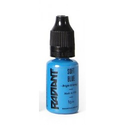 USA Tattoo ink - Radiant Colors -  Soft Blue - 1/2oz - 15ml