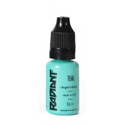 USA Tattoo ink - Radiant Colors -  Teal - 1/2oz - 15ml