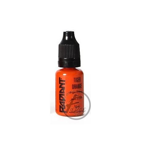USA Tattoo ink - Radiant Colors -  Tiger Orange- 1/2oz - 15ml