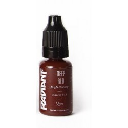 USA Tattoo ink - Radiant Colors -  DEEP RED - 1oz