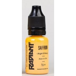 SAFFRON - 1/2oz - 15ml - Radiant Colors - USA Tattoo ink.