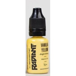 VANILLA YELLOW - 1/2oz - 15ml - Radiant Colors - USA Tattoo ink.