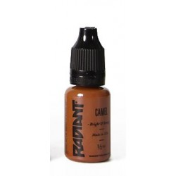 USA Tattoo ink - Radiant Colors -  Camel - 1/2oz - 15ml