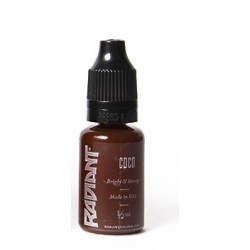 USA Tattoo ink - Radiant Colors -  Coco - 1/2oz - 15ml