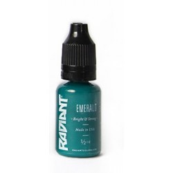 USA Tattoo ink - Radiant Colors -  Emerald - 1/2oz - 15ml