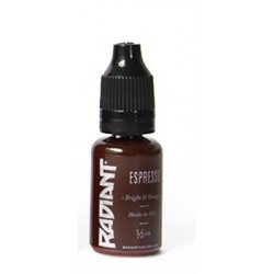 USA Tattoo ink - Radiant Colors -  Espresso - 1/2oz - 15ml