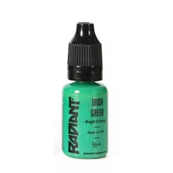 USA Tattoo ink - Radiant Colors -  Irish Green - 1/2oz - 15ml