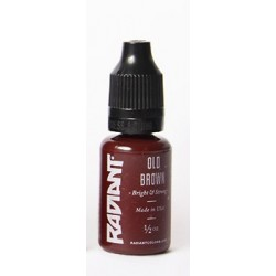 USA Tattoo ink - Radiant Colors -  Old Brown - 1/2oz - 15ml