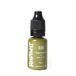 USA Tattoo ink - Radiant Colors -  Olive - 1/2oz - 15ml
