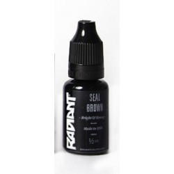 USA Tattoo ink - Radiant Colors -  Seal Brown - 1/2oz - 15ml