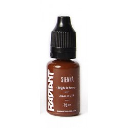 USA Tattoo ink - Radiant Colors -  Sienna - 1/2oz - 15ml