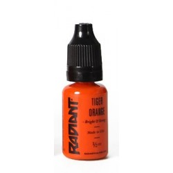 USA Tattoo ink - Radiant Colors -  Tiger Orange- 1/2oz - 15ml
