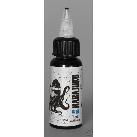 USA Tattoo ink - Radiant Colors -  OUTLINING - 1oz