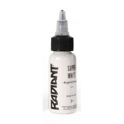 USA Tattoo ink - Radiant Colors -  SUPER WHITE - 1oz