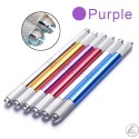 Manual Tattoo Pen with Dual Crossing Groove - Purple