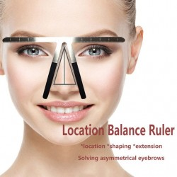 Microblading Eyebrow Balance Three point Ruler