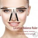 Microblading Eyebrow Balance Three point Ruler
