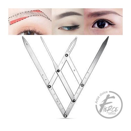 Calipers Microblading Measure Tool Stainless Steel