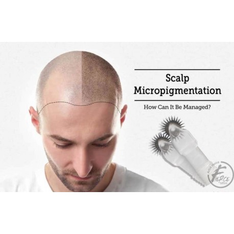 Wheeled Microblading  Blades  7mm for Scalp Micropigmentation