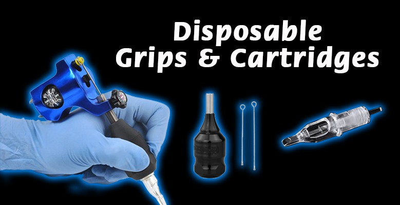 Fierce Tattoo Supplies -  Disposable grips and cartridges